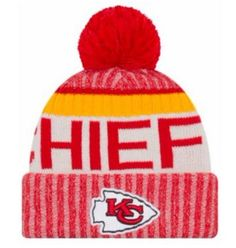 0d00f6d6e New Era Kansas City Chiefs NFL Knit Hat Cap Winter Beanie Skullcap 11460394