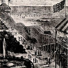 ❖ June 16, 1884 ❖ The first roller coaster in America opens at Coney Island, in Brooklyn, New York. Known as a switchback railway, it was the brainchild of LaMarcus Thompson, traveled approximately six miles per hour and cost a nickel to ride. The new entertainment was an instant success and by the turn of the century there were hundreds of roller coasters around the country.