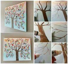 http://diycozyhome.com/button-tree-canvas-wall-art