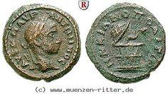 RITTER Moesia Inferior, Markianopolis, Elagabal, Cista Mystica, Schlange #coins