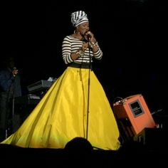India Arie dress from Stevie Wonder tour- Songs in the Key of Life