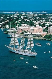Beautiful Bermuda - that's a place I'd like to go now that we're back on the East Coast