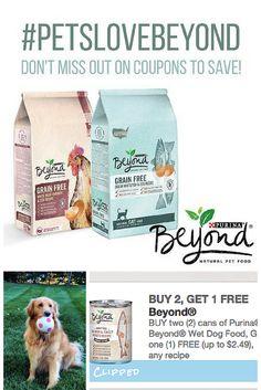 Nuevos cupones de descuento para tu mascota- Ahorra dinero con estos cupones. Cupones gratis #PetsLoveBeyond #CollectiveBias #ad