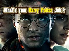 What Job Would You Have in The Harry Potter World?
