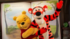 Meet Tigger and Friends near the Many Adventures of Winnie the Pooh annette@wishesfamilytravel.com