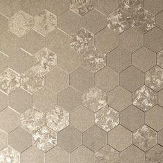 Foil Honeycomb Champagne – Arthouse Vinyl Wallpaper, Honeycomb Wallpaper, Wallpaper Display, Cheap Wallpaper, Feature Wallpaper, Metallic Wallpaper, Paper Wallpaper, Geometric Wallpaper, Wallpaper Samples