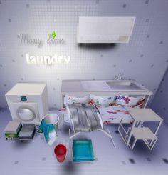 Mony Sims: Download: Organise Your Laundry Conversão TS2/TS4