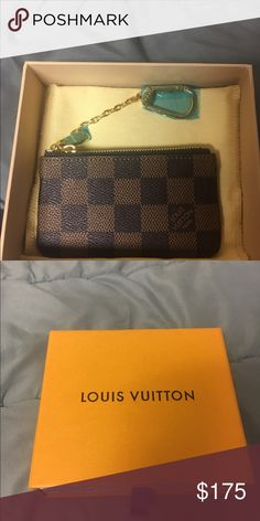 Louis Vuitton Key pouch 1000% authentic Louis Vuitton Accessories Key & Card Holders