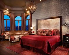 Decorating Romantic Bedroom for a Young Couple - Home Interior Decorating Ideas