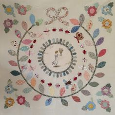 Hand Applique, Applique Quilts, Embroidery Applique, Quilting Projects, Quilting Designs, Susan Smith, Hand Quilting, Applique Designs, Quilt Blocks