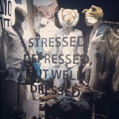 stressed #stressed #depressed #welldressed