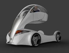 Honda Forklift, futuristic car, Hamit Kanuni Kuralkan, delivery vehicle