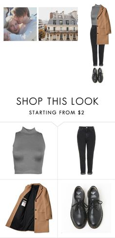 """Без названия #1915"" by asmin ❤ liked on Polyvore featuring CO, Topshop, Chanel, Dr. Martens, noora and skam"