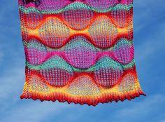 """Camino Bubbles""  <  Using Drop Stitch  -  by Kieran Foley  /  KL"