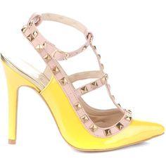 YA. Yellow Powder Heeled Shoes 5729420608-YELLOWPOWDERHEELEDSHOES5729420608 $85.00 on buyinvite.com.au