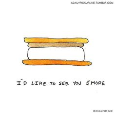 And for the one with the sweet tooth: | This Artist Made Adorable Illustrations For Some Of The Best Pickup Lines