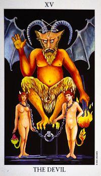 Devil Tarot Card Meanings tarot card meaning