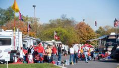 Photo of RV tailgating party. photo by sd dirk