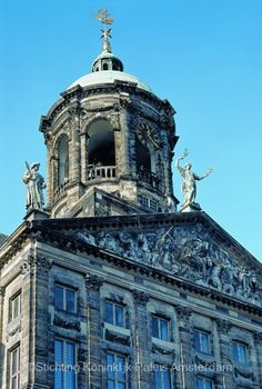 Visitor Information on the Royal Palace in Amsterdam: Brief History of the Royal Palace in Amsterdam