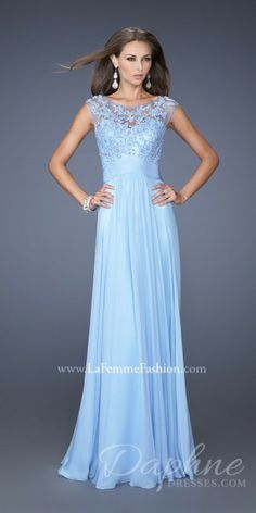 dress up ball gowns on sale at reasonable prices, buy 2015 Chiffon and Lace Evening Dresses 2015 Long Illusion Back Sleeveless Formal Gowns O-neck Prom Evening Gowns from mobile site on Aliexpress Now! Blue Bridesmaid Dresses, Homecoming Dresses, Dress Prom, Bridesmaids, Party Dress, Sequin Bridesmaid, Prom Gowns, Chiffon Evening Dresses, Evening Gowns