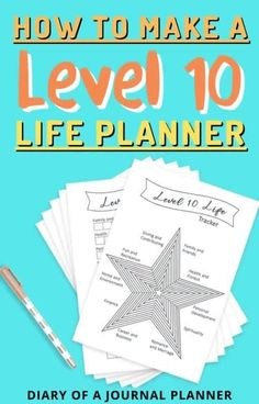 Get your entire life organized and start working towards your goals with these level 10 life planner printables! #printables #lifeplanner #planner Personal Planners, Day Planners, Day Planner Organization, Planner Sheets, Bullet Journal Printables, Perfect Planner, Templates Printable Free, Life Planner, Printable Planner