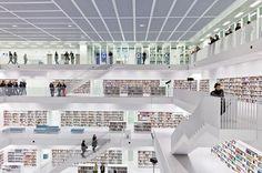 The New Stuttgart City Library - Germany