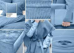 PANTONE 14-4122 Airy Blue. Прекрасно сочетается с другими оттенками модной палитры, такими как Riverside, Lush Meadow, Taupe и Dusty Cedar. Причём, в одних сочетаниях, Airy Blue приглушает, а в других – смотрится свежо и ярко. (осень-зима 2016-2017)