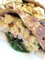 Pineapple Chicken Salad Pitas Recipe recipes