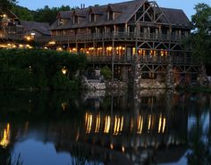 Big Cedar Lodge is my favorite place :)  There is nothing like it....everything is perfect at Big Cedar. I always feel at home.
