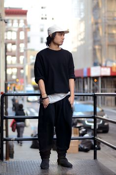 All in the comfort - Engineered Garments cap, Damir Doma Silent everything else!