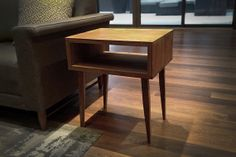 Solid Black Walnut Side Table/ Nightstands by solidwoodlimited, $225.00