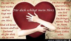ein Bild für's Herz 'fuer dich schlaegt mein herz.jpg'- Eine von 1559 Dateien in der Kategorie 'Sprüche zur Liebe' auf FUNPOT.