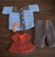 "Safari - 18"" doll --image intense - Free Original Patterns - Crochetville"