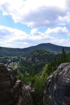Zwischen Weißem Stein und Teufelsmühle im Zittauer Gebirge