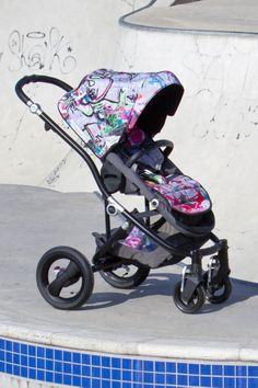 Der exklusive Streetart Kinderwagen von Britax Römer: Britax affinity Jungle Boogie.  #streetart #street #art #urbanart #Kinderwagen #Graffiti