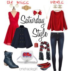 Saturday Style: Ole Miss Rebels & Tennessee Volunteers by Tarole Harris : Lucky Community