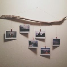 hanging pictures on driftwood - AOL Image Search Results