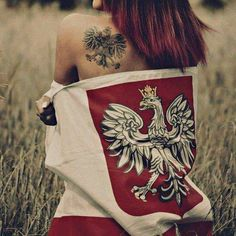 Polish Eagle Tattoo, World Country List, Poland Tattoo, Gravure Photo, Polish People, First Haircut, Art Carved, Krakow, Photomontage