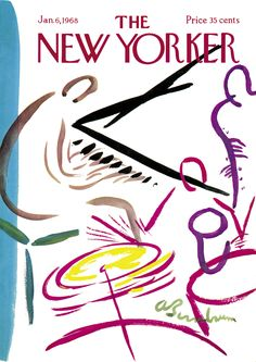 The New Yorker - Saturday, January 6, 1968 - Issue # 2238 - Vol. 43 - N° 46 - Cover by : Abe Bimbaum