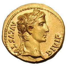 roman gold coin with head - Google Search