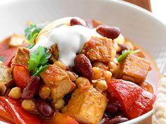 Gryta på bönor & tofu