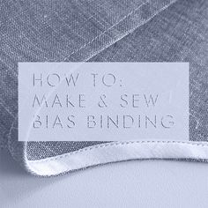 Bias tape tutorial: A simple technique make and sew a perfect bias facing on a neckline or a curved hem.