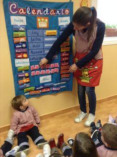 Calendario para Centros infantiles www.decoraeducando.com