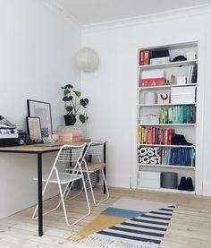 Simple home office for two @merimeri.dk