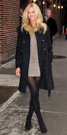 Look of the Day - February 10, 2010 - Brooklyn Decker from #InStyle