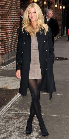 black tights w/ black heels #clothingfetish