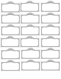 printable name tags printable labels templates printable free printables blank labels