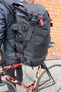 Pedal Consumption Srs X Dsc Crit Duffle By Seagull Bags Rucksack Backpackbike Messenger Bagsleather
