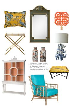 Chinese Interior, Asian Interior, Asian Home Decor, Hollywood Regency, Interior Inspiration, Bedroom Inspiration, Decoration, Decor Styles, China
