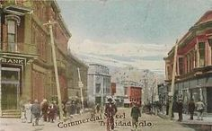 TRINIDAD-Colorado-CO-COMMERCIAL-STREET-Scene-ca-1910s-Bank-Postcard
